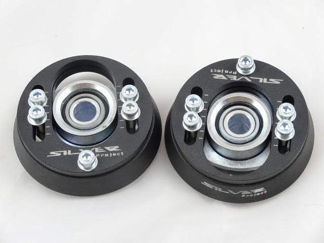 Camber Plates GOLF MK2 MK3 -15MM - camber 1,5 - GRUBYGARAGE - Sklep Tuningowy